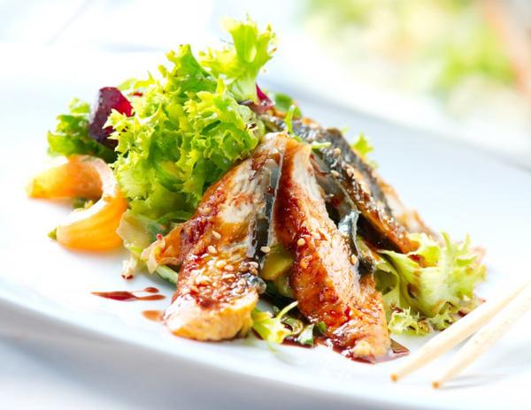 Блюда с кунжутом: рецепты