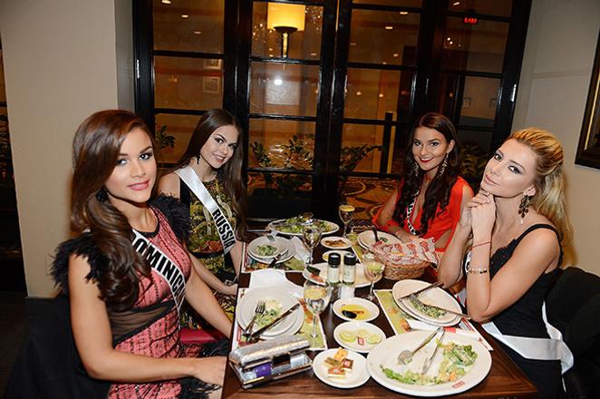 В Лас-Вегасе стартовал конкурс «Мисс Вселенная – 2015», фото