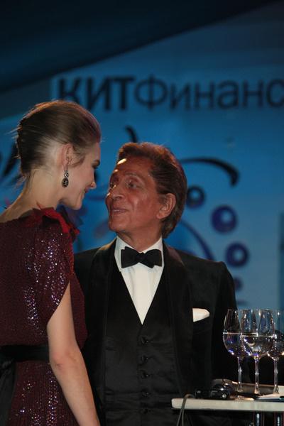 Наталья Водянова и Валентино Гаравани