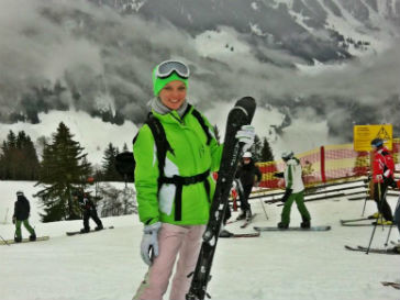 Елена Кулецкая в Австрии