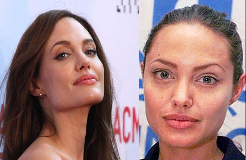 Звезды без макияжа и фотошопа