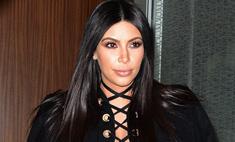 Беременная Ким продолжает шокировать нарядами