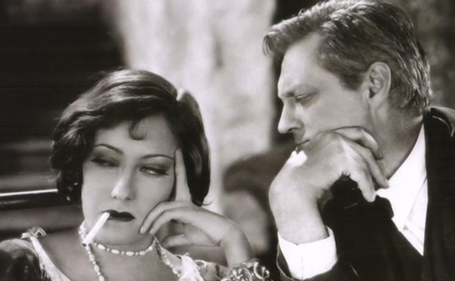 """Глория Суонсон в фильме """"Сэди Томпсон"""", 1928 год."""