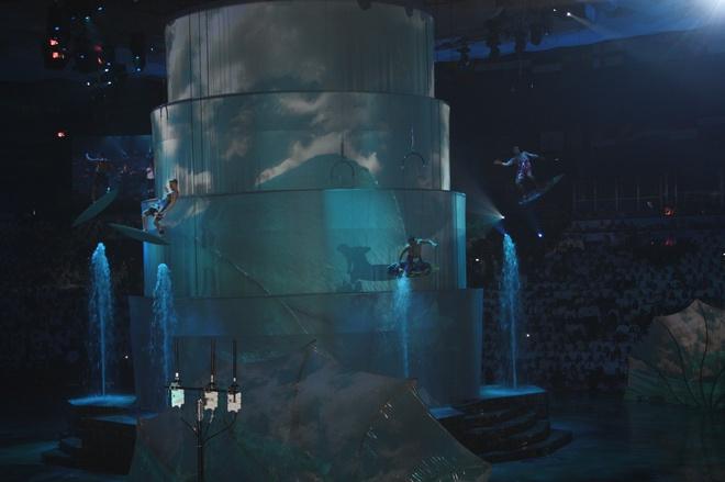 Церемония закрытия Чемпионата мира по водным видам спорта в Казани