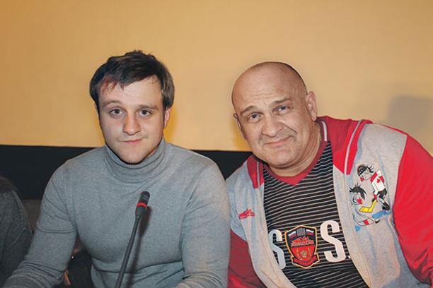 Игорь и Алексей Огурцовы