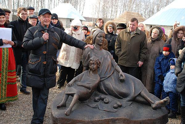 Михаил Задорнов в «Этномире»