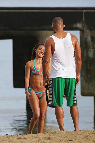 Уилл Смит и Джада Пинкетт Смит на Гавайях фото 2