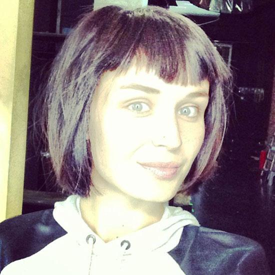Полина Гагарина постриглась и перекрасила волосы