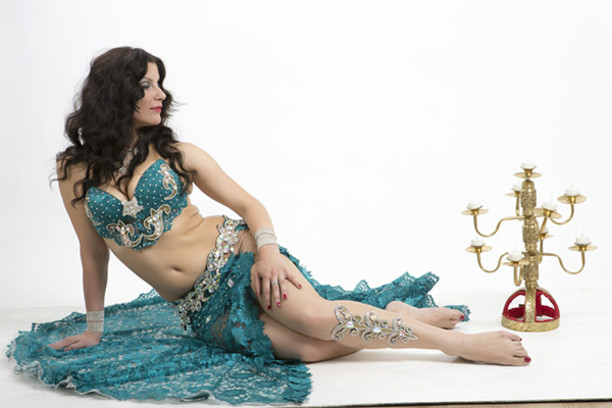 Анастасия Невская самая обворожительная восточная танцовщица Самары