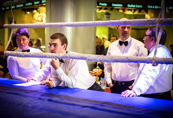 Международный турнир по французскому боксу сават, ТРЦ «Питер-Радуга»