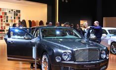 Новая модель Bentley в Барвиха Luxury Village