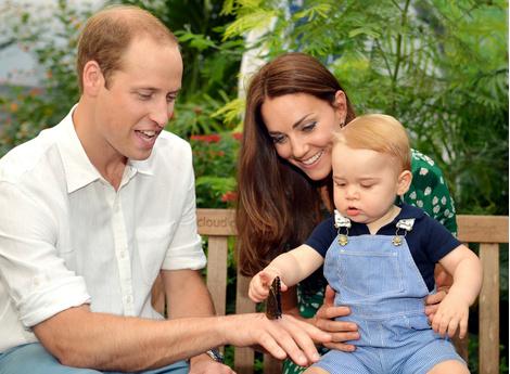 История любви Кейт Миддлтон и принца Уильяма в фотографиях   галерея [4] фото [9]