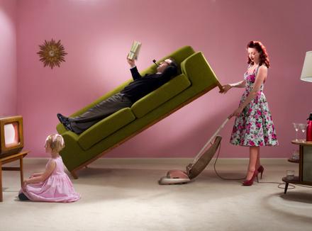 Домашние дела и гимнастика