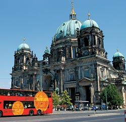Берлинский собор (1904 год) — форпост на подступах к Музейному острову. Неподалеку от него находится Старый музей