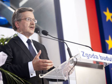 Комаровский празднует победу на выборах
