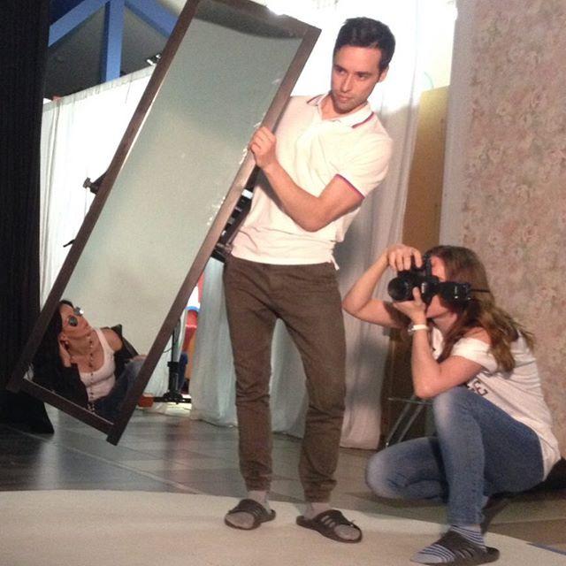 Фотографии с зеркалом