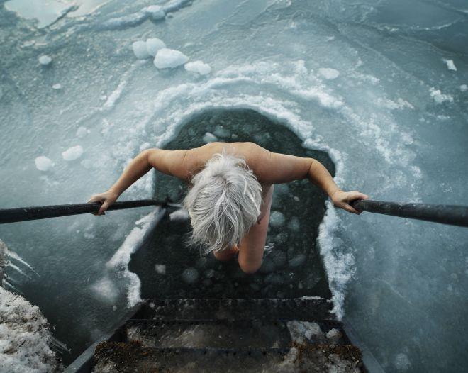 Магнитогорск, крещение, купание в проруби, советы врача