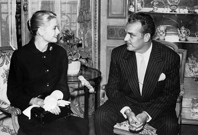 Грейс Келли и князь Монако Ренье III фото