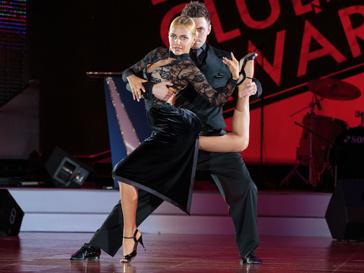 Чемпионы России по танго_Эсмер Омерова и Дмитрий Васин