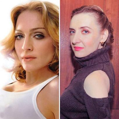 Лилия Фанина и Мадонна