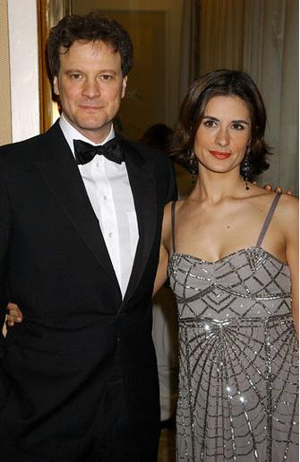 Колин Ферт (Colin Firth) с женой