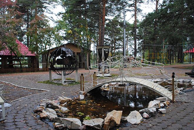 Заельцовский парк Новосибирск