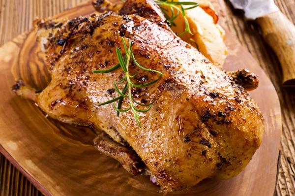 Рецепт жареной утки