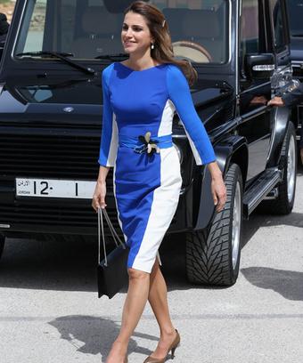 Королева Иордании Рания ( Queen Rania of Jordan), 2013 год