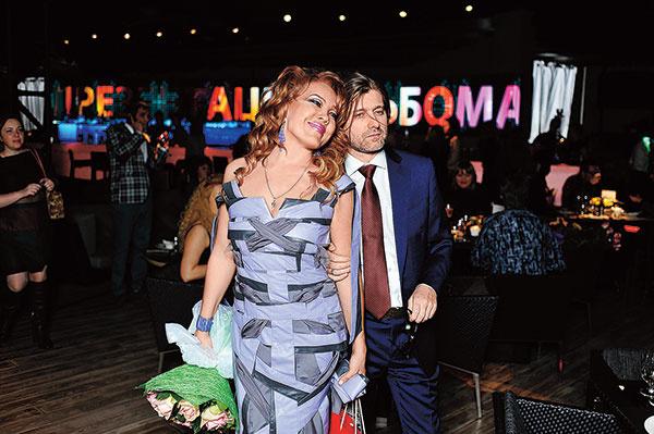Азиза с мужем: фото