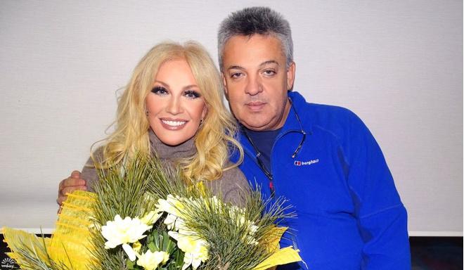 Таисия Повалий и ее муж Игорь Лихута
