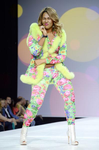 Корнелия Манго на Неделе моды в Москве