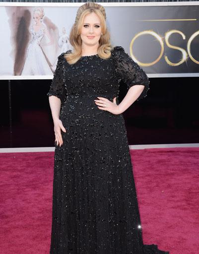 """Адель (Adele) на премии """"Оскар""""-2013"""