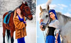 Прогулка на лошадях с 18 самыми красивыми наездницами Воронежа