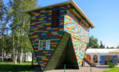 На Крестовском острове появился «Дом наоборот»