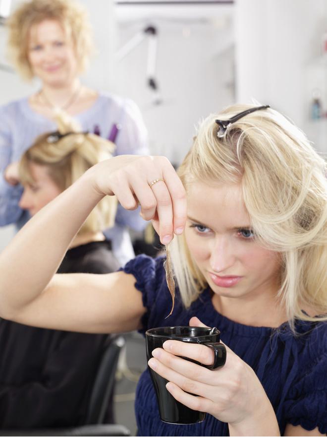 Как освежить волосы