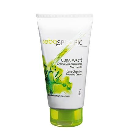 Ультраматирующий увлажняющий крем для лица. Sebo specific, Yves Rocher. Придает матовость коже в течение всего дня.
