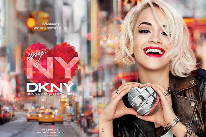 Рита Ора стала лицом нового аромата DKNY