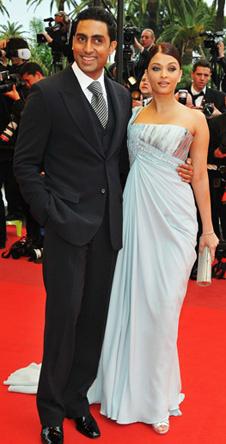 Айшвария Рай с супругом