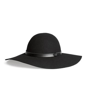 шерстяная широкополая шляпа