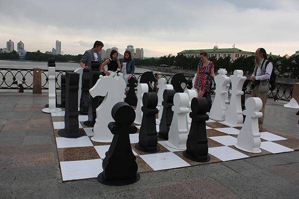 Шахматы на Плотинке