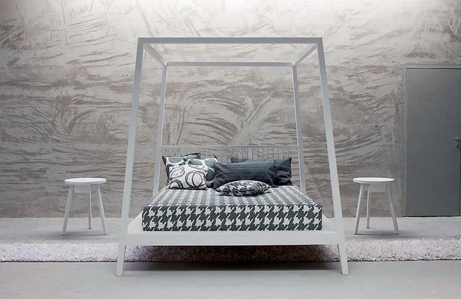 Кровать из коллекции Gray