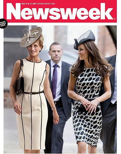 Принцесса Диана и Кейт Миддлтон (Kate Middleton) - жертвы фотошопа