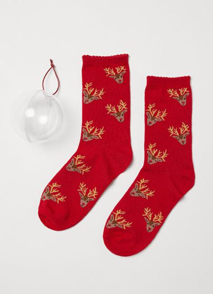 Носки в елочном шаре H&M, 349 руб.