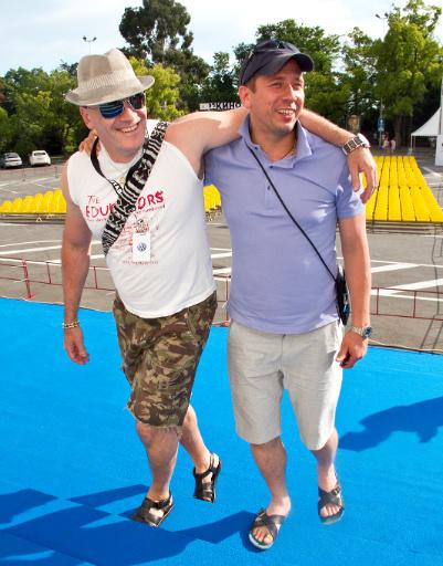 Сэм Клебанов и Андрей Менрзликин