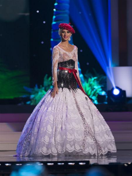 Мисс Вселенная 2014: участница из Франции, фото