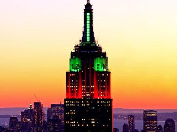 Empire State Building напомнит нью-йоркцам, как важно помочь пострадавшей от серии землетрясений и цунами Японии
