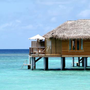 Мальдивы - отличное место для уединенного отдыха.