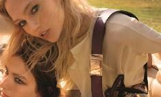 Саша Пивоварова в рекламном ролике Chloe