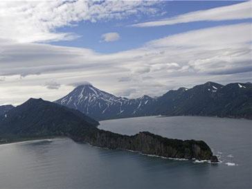 На Камчатке произошло извержение вулкана Шивелуч