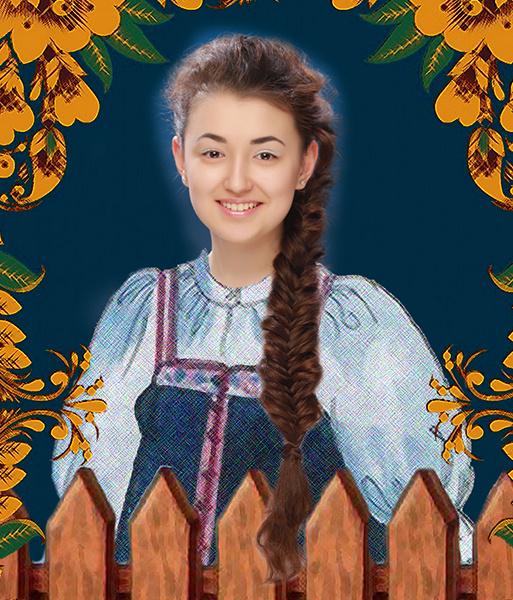 Эльвира Сибагатулина, «Уральская краса – русская коса», фото